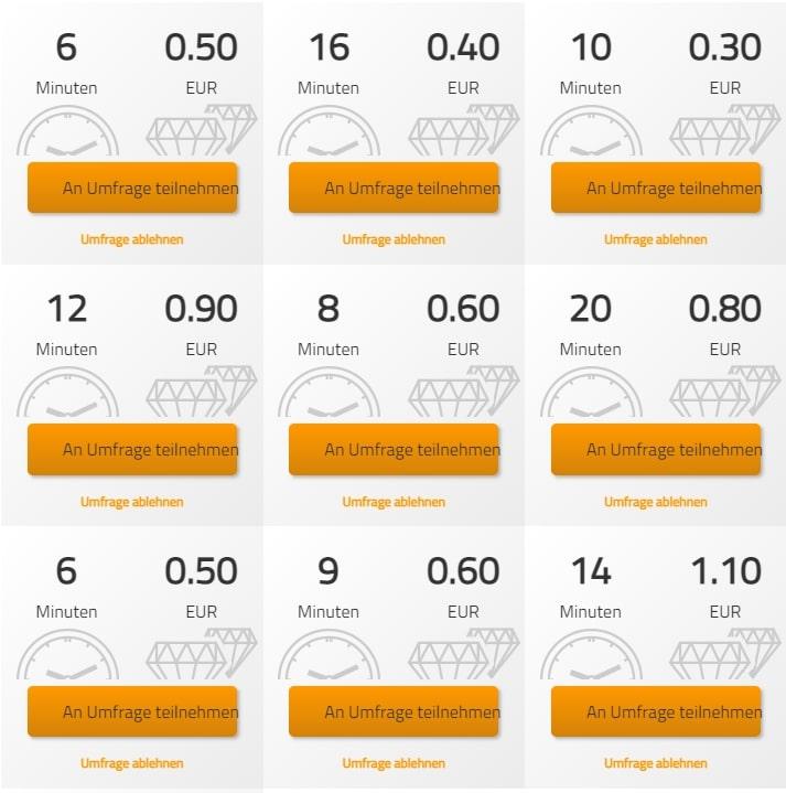 LoopsterPanel-Umfragen