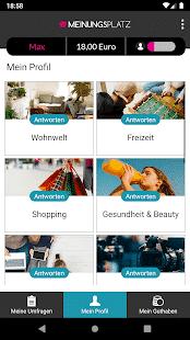 Meinungsplatz App Profil 1