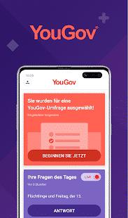 YouGov App Homescreen