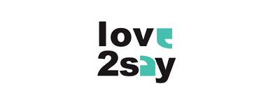 love2say Logo 1