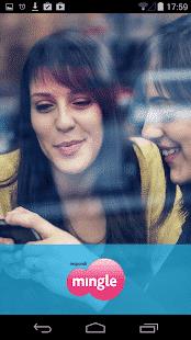 mingle App Homescreen
